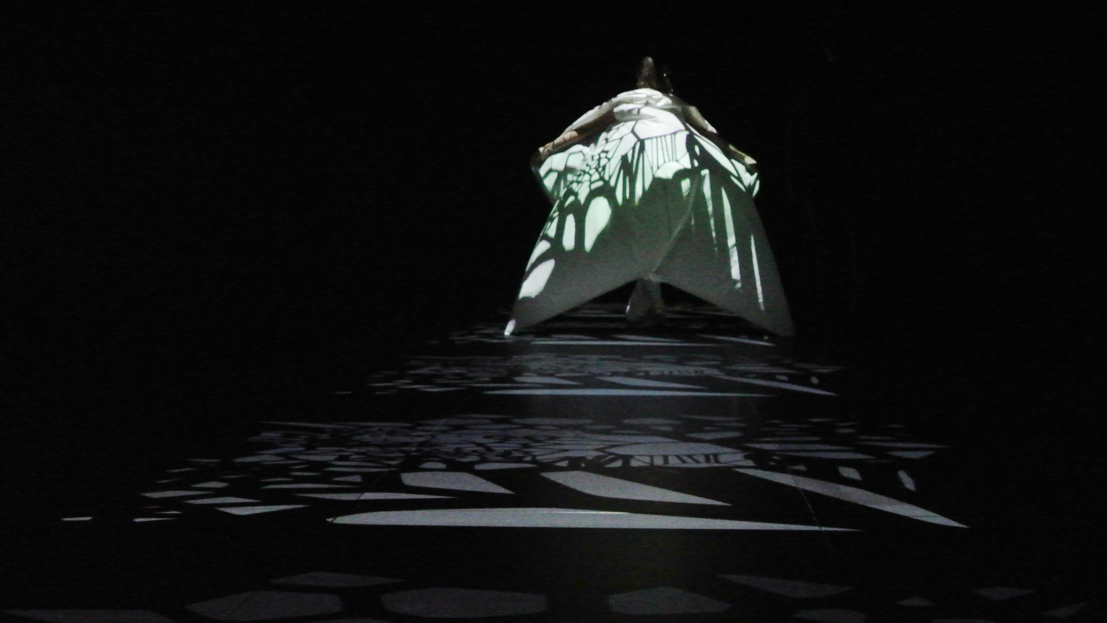 JUNKO KOSHINO FASHION SHOW×PROJECTION MAPPING IN POLAND 2013