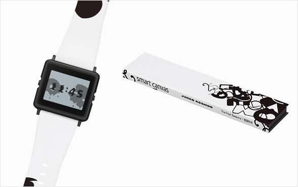 JUNKO KOSHINO×SMART CANVAS NEW WATCH「春夏秋冬」